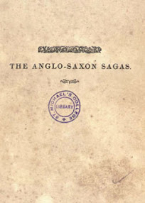 Cover of Daniel Haigh's Book The Anglo Saxon Sagas