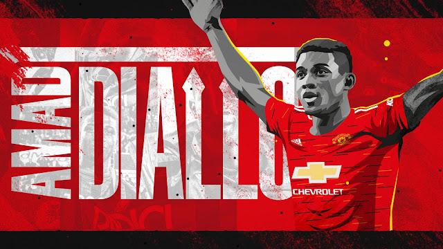 Manchester United Umum Amad Diallo Sebagai Pemain Mereka.