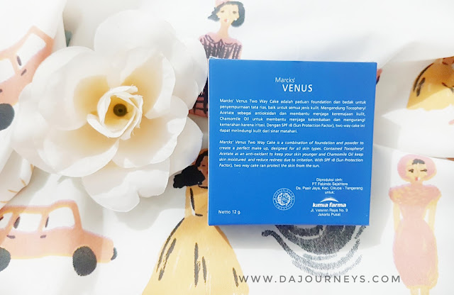 [Review] 2 Way Cake dari Marcks' Venus