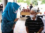 Didampingi Wakil Wali Kota Banda Aceh, Ketua TP PKK Aceh Luncurkan Gebyar Vaksinasi Lansia