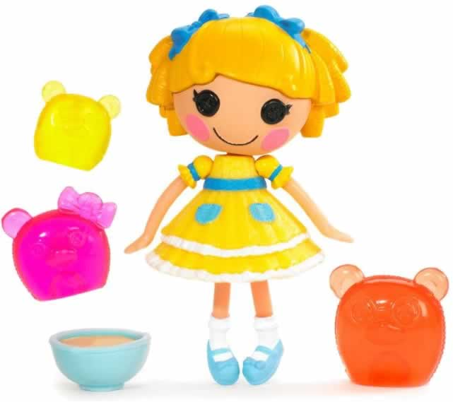 mini Lalaloopsy Fairy Tales - Curls 'N Locks (Ricitos de Oro y los 3 osos)