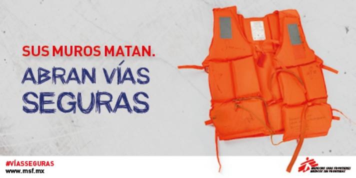 MSF. Vías seguras
