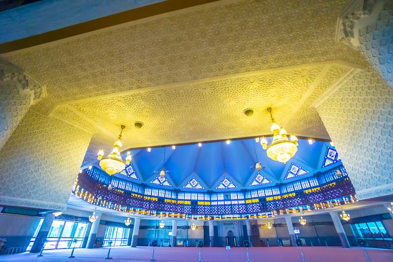 クアラルンプール 国立モスク8 礼拝堂