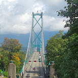 Lions Gate Bridge in Vancouver, British Columbia, Canada