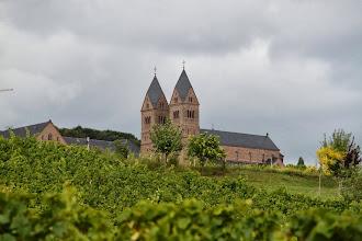 Photo: Udsigt fra sognekirken i Eibingen til Abtei St. Hildegard