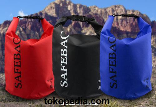 Safebag Waterproof Bucket Dry Bag 5 Liter Red