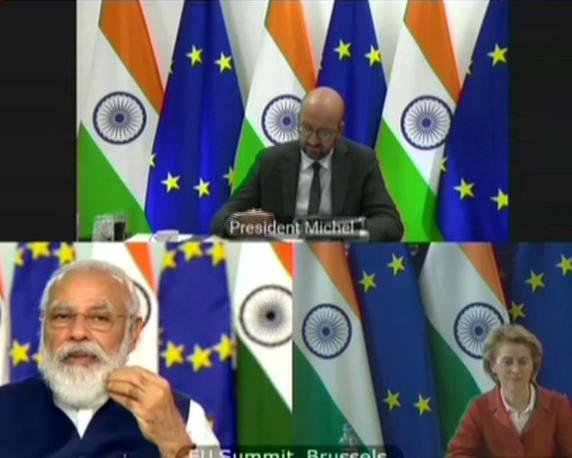 Prime Minister Narendra Modi at the 15th India EU summit kpn