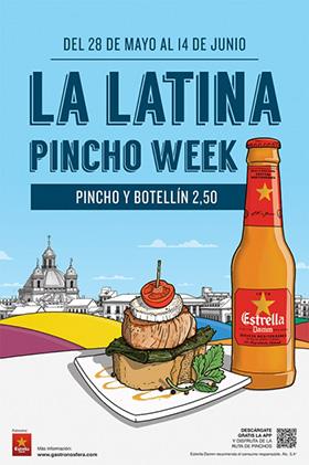 La Latina Pincho Week, del 28 de mayo al 14 de junio 2015