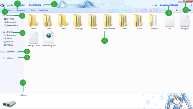 Fungsi Tools Menarik File Explorer Windows 7