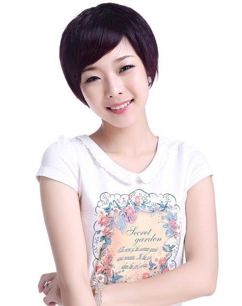 Elegant Korean Trendy Short Hairstyles - Nails C