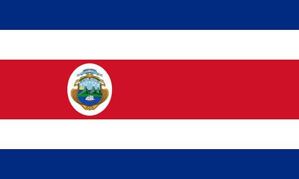 Imagen de la bandera de Costa Rica