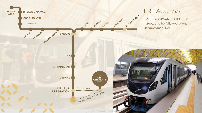 Jalur LRT Cibubur