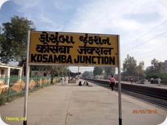 Kosamba railway station