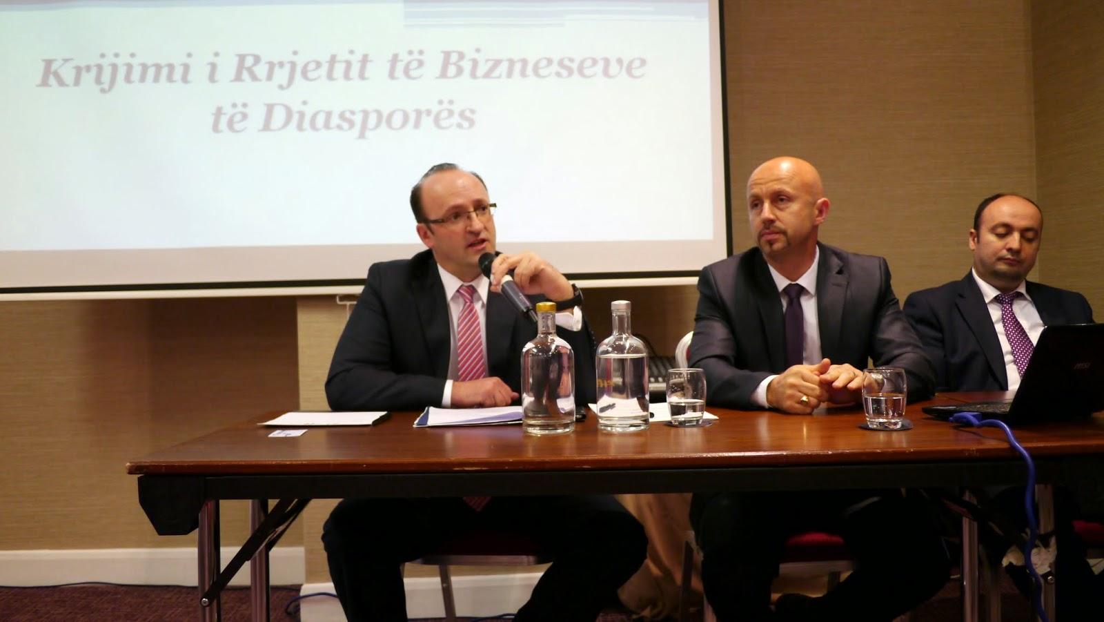 Krijimi i rrjetit se bizneseve te diaspores ne Mbreterine e Bashkuar ne Londer