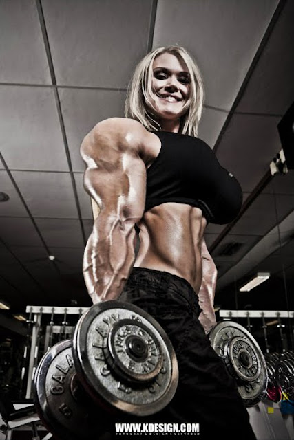 Nina Furseth muscle morph