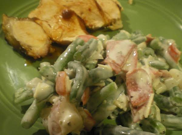 Green Bean Salad With Ranch Sauce