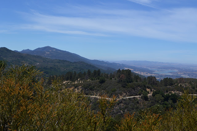 Broadcast Peak and Cachuma Lake