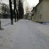Проспект Мира, тротуар.