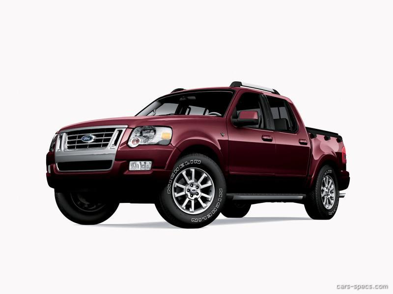 2010 ford explorer sport trac crew cab specifications. Black Bedroom Furniture Sets. Home Design Ideas