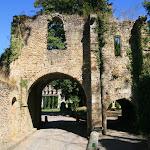 Abbaye des Vaux de Cernay : entrée