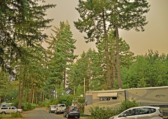 Smoke over Park