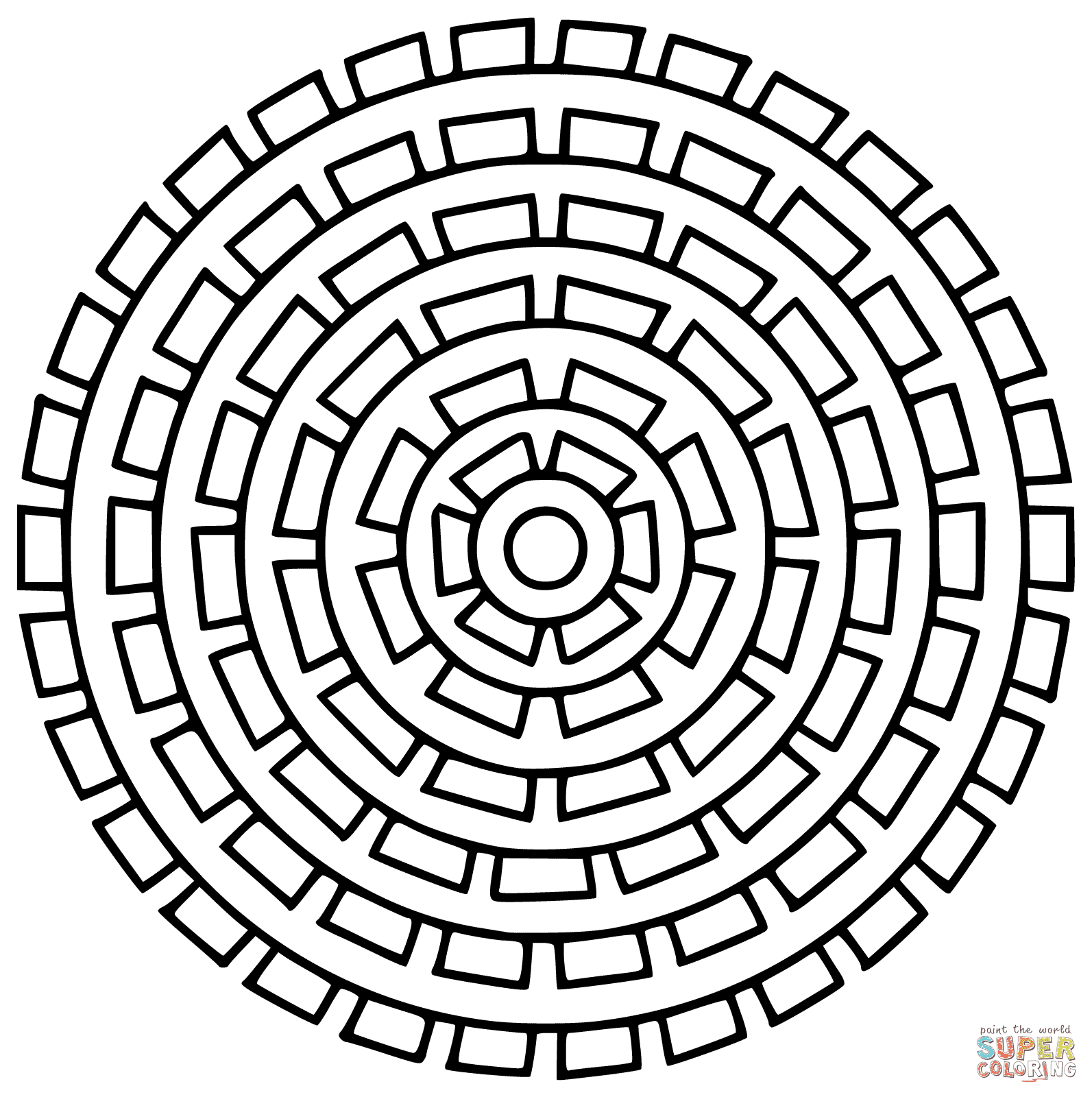 Top 10 Sun Mandala Coloring Pages Pictures
