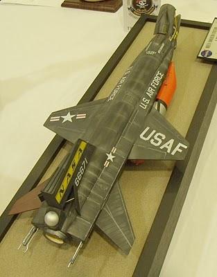 X-15A-2 rocket plane model.