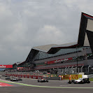 A few moments untill the start of the 2012 UK F1 GP