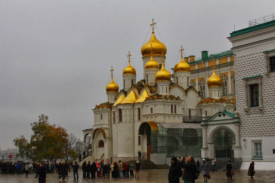 moscow kremlin archangel cathedral