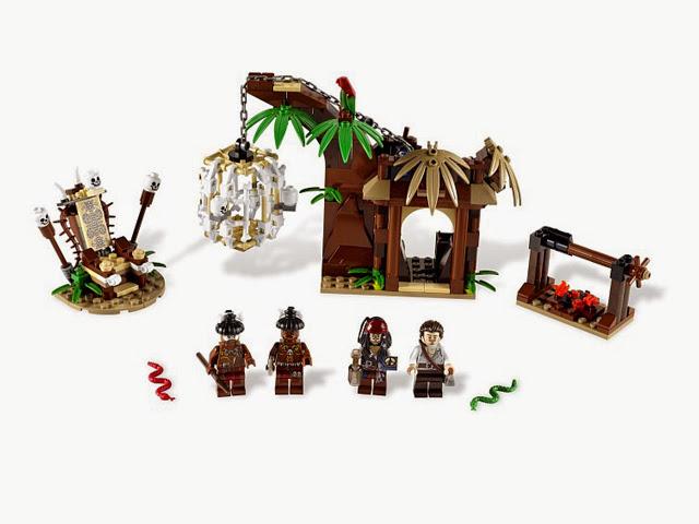 4182 レゴ パイレーツオブカリビアン 人喰い島からの脱走