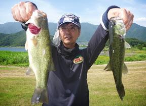 17位 熊田周一選手 2本 620g