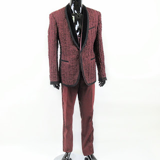 Dolce & Gabbana NEW 3-Piece Ruffle Tuxedo Sz 48