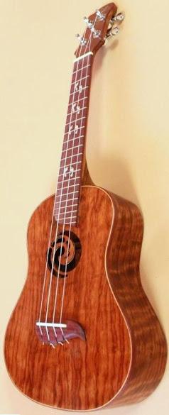 Ryan Elewaut custom sound instruments concert ukulele