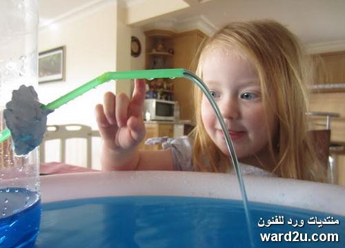 تجارب علمية منزلية مبسطة للاطفال