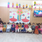 Diwali Celebration by Playgroup Section at Witty World Bangur Nagar (2018-19)