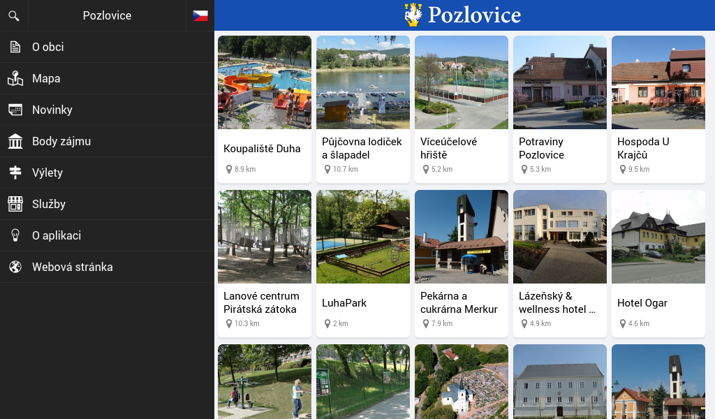 Pozlovice- screenshot