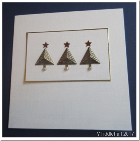 Pyramid Christmas Card
