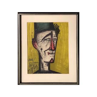 Bernard Buffet 'Jo Jo the Clown' Lithograph