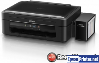 Reset Epson L382 ink pads are at the end of their service life