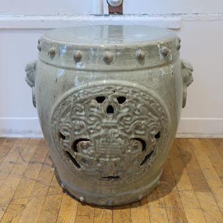 Ceramic Garden Stool #2