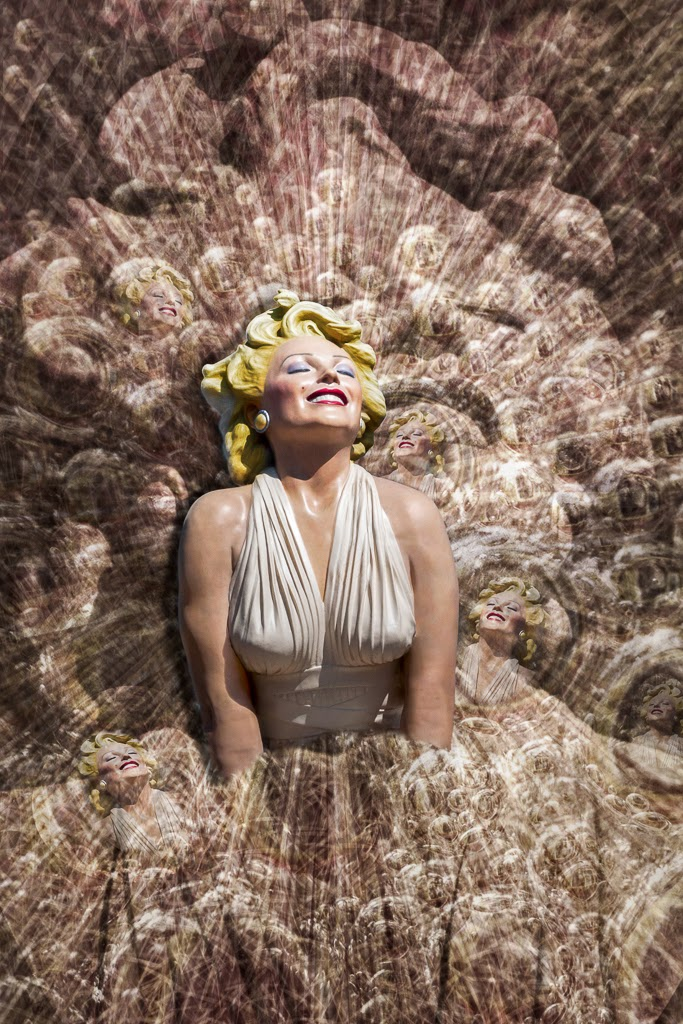 """""""Bubbly Marilyn"""" by Witta Priester -- 3d place Print"""