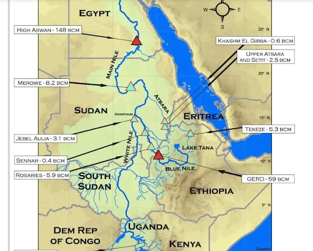 """Nakokiya Sûdan-Etiyopyayê ya li ser """"herêma Kurdan"""" û rûpelên hebûna Kurdan li herêmê"""