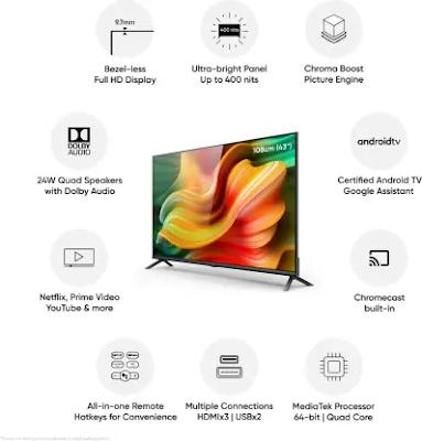 Realme 43 ″ Smart TV