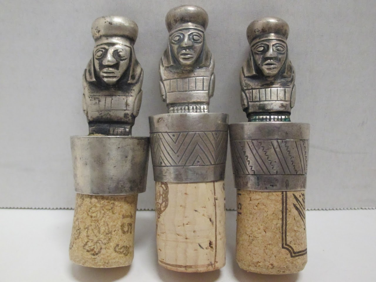 Vintage Peruvian Wine Stoppers