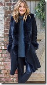 Celtic & Co Navy Toscana Trim Sheepskin Coat - other colours