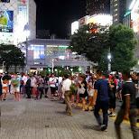 the eccentric nightlife of Shibuya in Tokyo in Shibuya, Tokyo, Japan