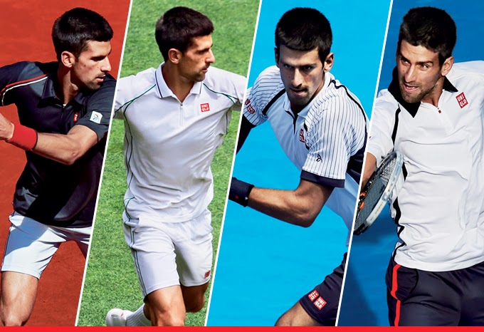 Uniqlo To Launch Tennis Apparel Collection Based On Novak Djokovic S Grand Slam Match Wear Textiles Update