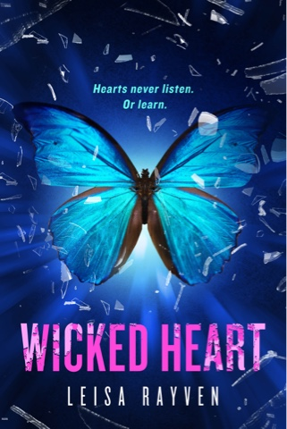 Cover Reveal: Wicked Heart by Leisa Rayven