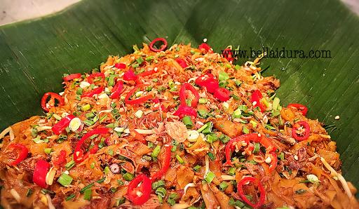 keaw teow goreng enak, resepi