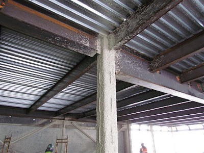 Fire resistant treatment has begun to be applied to new steel structures LikeViews: 0